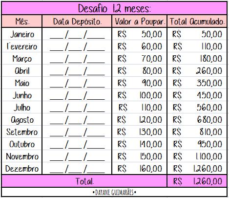 DESAFIO 12MESES